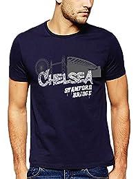 642 Stitches Men's Cotton Chelsea Stamford Bridge T-Shirt