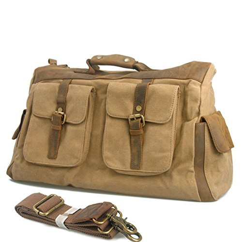 Simple Base Tote da viaggio verde green Beige