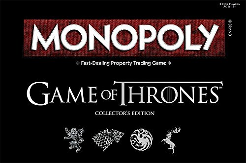 TruffleShuffle Jeu Monopoly Game Of Thrones