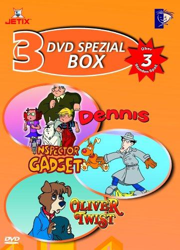DVD Spezial Box 4 (3 DVDs: Dennis/Inspector Gadget/Oliver Twist)