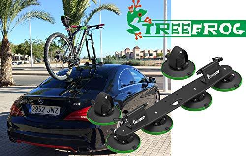 Treefrog - Portabici con Ventosa, per 2 Biciclett
