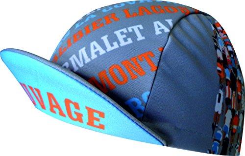 Imagen de puertos miticos  ekeko racecut tejido tecnico, ciclismo.color gris/azul celeste