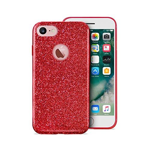 Puro Back Case Ultra Slim 0.3 Schutzhülle (für Apple iPhone 7) Schwarz Einfarbig