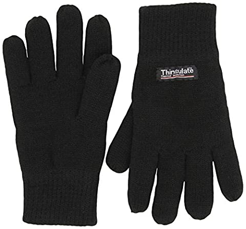 Highlander Drayton Thermal Mitts - Black, X-Large