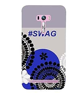 PRINTSWAG SWAG Designer Back Cover Case for ZENFONE SELFIE ZD551KL
