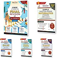 Final Practice CBSE Class X Combo of Final Revision + Maths + Science + English Sample Papers Book For May 202