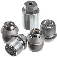 McGard 24212SL Ultra High Security - Tuercas antirrobo para ruedas (base cónica, M12 x 1,5, largo 35,0 mm, SW21)