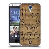 Head Case Designs Beethoven Music Sheets Soft Gel Back Case Cover for HTC Desire 620 620G