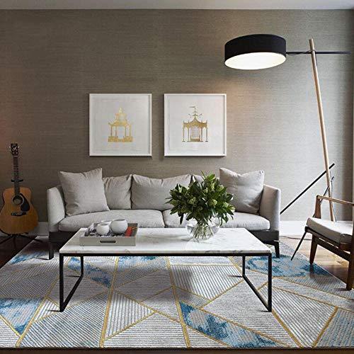 Sdhs Modernes Minimalistisches Nordisches Couchtischmodell des Amerikanischen Leichten Luxuswohnzimmerteppichs Vorbildliches Kurzes Ausgangsschlafzimmerdecke (größe : 240x340cm) -