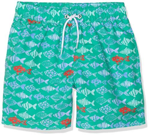 Hackett Fish Print Bañador, Verde Bright Green 633, 98/104 Talla del Fabricante: 3-4...