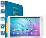 PREMYO 2 Stück Panzerglas Schutzglas Bildschirmschutzfolie Folie kompatibel für Huawei MediaPad T2 Pro 10.0 HD-Klar Anti Kratzer Blasen Fingerabdrücke
