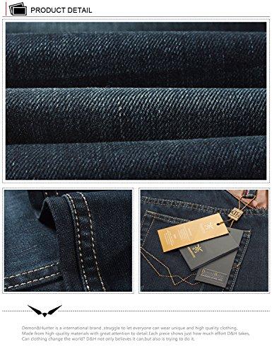 Demon & Hunter Herren Jeans Gerader Schnitt für 8003x 29, 8003/Nostalgie Blue, Gr. 29W/Regular DH8003-1 x Nostalgie Marine