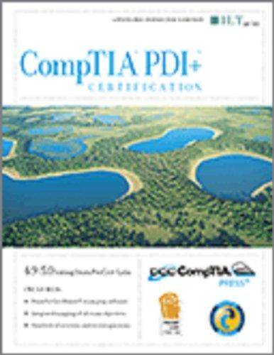 Comptia Pdi+ Certification + Certblaster, Instructor's Manual (ILT) por Axzo Press