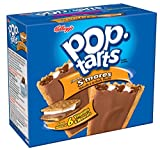 #8: Kellogg's Pop Tarts Breakfast Toaster Pastries, Frosted S'Mores Flavored, 624 Grams