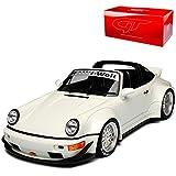 GT Spirit Porsche 911 964 Targa RWB Rauh Welt Weiss 1988-1994 Nr 188 1/18 Modell Auto