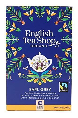 English Tea Shop - Earl Grey, BIO Fairtrade, 20 Teebeutel - (DE-Version)