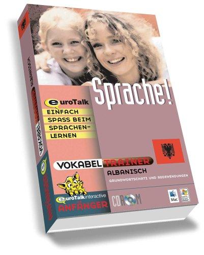 Vokabeltrainer Albanisch, 1 CD-ROM Grundwortschatz und Redewendungen. Für Windows 98/NT/2000/ME/XP und Mac OS ab 8.6
