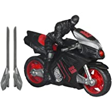G.I.Joe Retaliation Ninja Speed Cycle Vehicle with Snake Eyes Figure by G. I. Joe