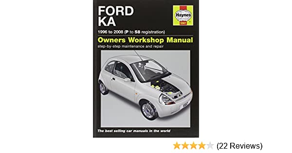 Ford Ka Service And Repair Manual   Haynes Service And Repair Manuals Amazon Co Uk A K Legg M R Storey  Books