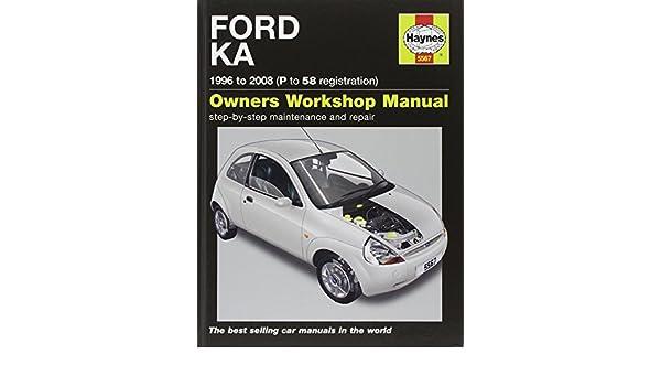 Ford Ka   Haynes Car Workshop Manuals Amazon De Mark Storey Fremdsprachige Bucher