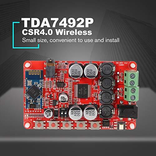 Scheda-amplificatore-di-potenza-Bluetooth-TDA7492P-50W-50W-CSR40-Scheda-amplificatore-ricevitore-wireless-digitale-Audio-Receiver-Rosso