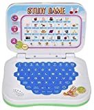 #6: JINKRMEN Mini Laptop with Sounds for Kids, Fun with Learn Laptop English Learner Study Game Computer Notebook Toy Multicolour