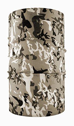 headloop Multifonction Chiffon Camouflage Gris Loop Tuyau Chiffon écharpe Foulard tête en Microfibre