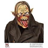 Lively Moments Vollmaske Vampir Zombie mit Haar / Zombiemaske / Halloween / Kostümzubehör / Halloweenmaske
