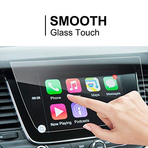 LFOTPP Opel Astra Crossland X Grandland X 8 pulgadas Navegación Protector de pantalla - 9H Cristal Vidrio Templado GPS Navi película protegida Glass
