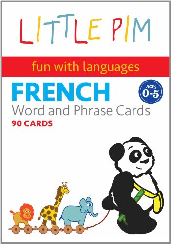 Little Pim Learn French: 45 Illustrated Flash Cards, Volume 1, My Fun Day