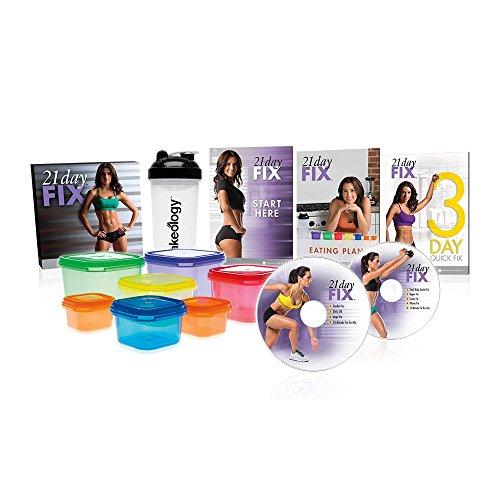21 Day Fix - Giorno Fix Fitness e il programma DVD perdita di peso