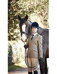 Dublín Wolverton infantil chaqueta de Tweed–oliva, 32
