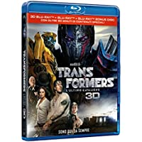 Transformers: L'Ultimo Cavaliere (2 Blu-Ray 3D + Blu-Ray);Transformers - The Last Knight