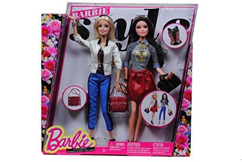 Preisvergleich Produktbild Barbie CCM05 - Party-Moden Fashionistas 2er Pack Barbie und Raquelle