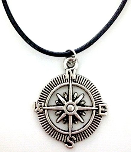 pendant-necklace-with-compass-rose-with-lace-in-black-cord-can-be-adjusted-gift-idea-for-kids-unisex