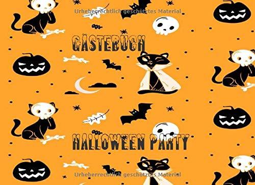 Bilder Von Ghost Kostüm - Gästebuch Halloween PartY: Schönes Erinnerungsbuch zur