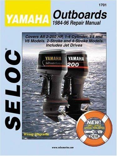 Yamaha Outboards 1984-96 Repair Manual (Seloc)