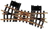 LGB 12260 - Elektrische Doppelkreuzweiche, R1, 22.5 Grad