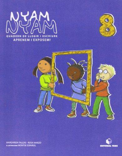 Nyam-Nyam. Quadern de llegir i escriure 08 - 9788430700462