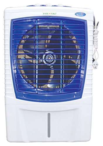 VOLTAC Classic Prime 125-Watts Air Cooler (White and Blue)