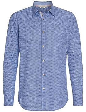 Distler Modernes Trachtenhemd Chris - Herren Herren-Hemd,Hemd,Trachten-Hemd,Karo-Hemd,