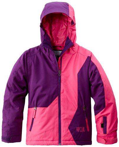 Rip Curl Mädchen Jacket snow Contorsia 14 Jahre rosa - Fuchsia Rosa (Snow Curl Rip)