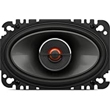 JBL GX642 - Sistema de altavoces de automóvil (coaxiales, 4x6 pulgadas, pareja), color negro