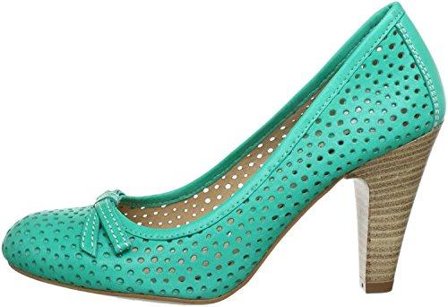 Martinelli Adele - Zapatos de vestir de Piel Lisa para mujer Verde Menta, color...