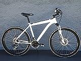 26' Zoll Alu MTB Cross Fahrrad Bike SHIMANO 24 Gang DISC SCHEIBENBREMSEN weiss