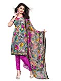 rf ROYAL FASHION MULTI COLOR COLOR LEON PRINTED DESIGNER DRESS MATERIALS