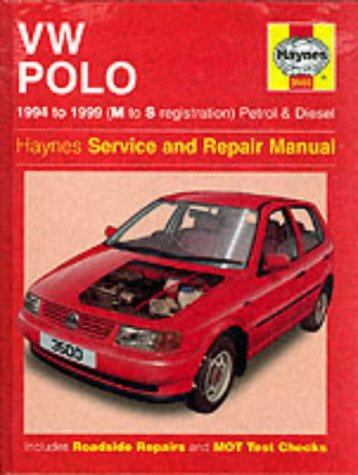 VW Polo Hatchback (1994-99) Service and Repair Manual (Haynes Service and Repair Manuals) por R. M. Jex