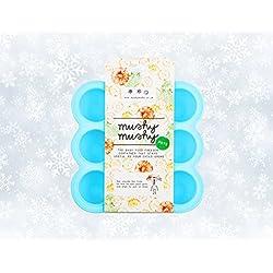 Envases para alimentos de bebés 9 envases fácilmente extraíbles, de silicona