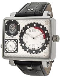 Boudier & Cie Herren-Armbanduhr XL Cosmos -  Automatic Collection Analog Automatik Leder OZG1133