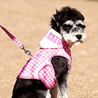 AHJSN Pet Clothing Dog Supplies Pet Chest Strap With Traction Rope Teddy Small Medium Dog Xl: Bust 50-52 Circumference 32-34Cm Rope Length 1.2 M Rose Red